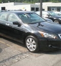 honda accord 2008 black sedan ex gasoline 6 cylinders front wheel drive automatic 13502