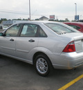 ford focus 2007 silver sedan gasoline 4 cylinders front wheel drive automatic with overdrive 13502