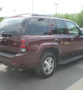 chevrolet trailblazer 2007 maroon suv gasoline 6 cylinders 4 wheel drive automatic 13502