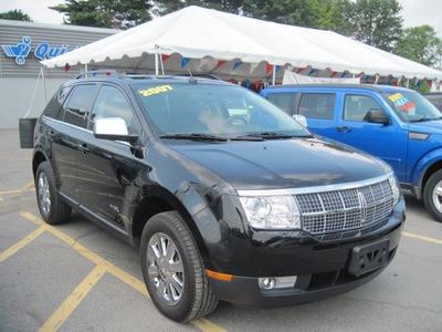 lincoln mkx 2007 black suv gasoline 6 cylinders all whee drive automatic with overdrive 13502