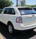 ford edge 2007 white suv sel gasoline 6 cylinders front wheel drive automatic with overdrive 13502