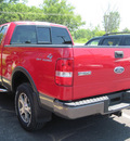 ford f 150 2004 red gasoline 8 cylinders 4 wheel drive automatic with overdrive 13502