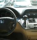 honda odyssey 2008 maroon van ex l gasoline 6 cylinders front wheel drive automatic 13502