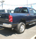 dodge ram 2500 2007 blue diesel 6 cylinders 4 wheel drive automatic with overdrive 13502