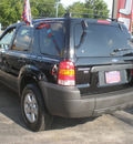ford escape 2006 black suv xlt gasoline 6 cylinders all whee drive automatic with overdrive 13502