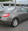 honda civic 2007 pewter coupe ex gasoline 4 cylinders front wheel drive automatic 13502