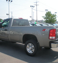 gmc sierra 2500hd 2007 gray pickup truck gasoline 8 cylinders 4 wheel drive automatic 13502