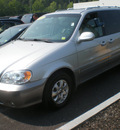 kia sedona 2005 silver van gasoline 6 cylinders front wheel drive automatic with overdrive 13502