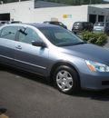 honda accord 2007 gray sedan lx gasoline 4 cylinders front wheel drive automatic 13502