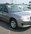 subaru forester 2007 gray suv 2 5 x gasoline 4 cylinders all whee drive automatic 13502