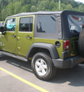 jeep wrangler 2007 green suv x gasoline 6 cylinders 4 wheel drive 6 speed manual 13502