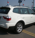 bmw x3 2008 white suv 3 0si gasoline 6 cylinders all whee drive automatic 13502