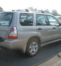 subaru forester 2007 silver suv 2 5 x gasoline 4 cylinders all whee drive automatic 13502