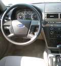 ford fusion 2008 blue sedan se gasoline 6 cylinders all whee drive automatic 13502