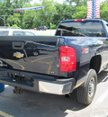 chevrolet silverado 2500hd 2007 blue pickup truck gasoline 8 cylinders 4 wheel drive automatic 13502