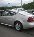 pontiac grand prix 2007 silver sedan gasoline 6 cylinders front wheel drive automatic 13502