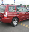 subaru forester 2006 red suv gasoline 4 cylinders all whee drive automatic 13502