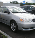 toyota corolla 2007 gray sedan gasoline 4 cylinders front wheel drive automatic with overdrive 13502