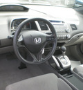 honda civic 2008 silver coupe lx gasoline 4 cylinders front wheel drive automatic 13502