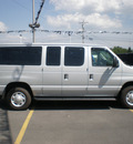 ford e 350 2008 silver wagon gasoline 8 cylinders rear wheel drive automatic with overdrive 13502