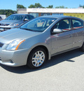 nissan sentra 2010 grey sedan s gasoline 4 cylinders front wheel drive automatic 55391