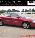 buick lucerne 2008 dk  red sedan cxl gasoline 6 cylinders front wheel drive automatic 55318
