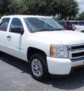 chevrolet silverado 1500 2010 white lt flex fuel 8 cylinders 2 wheel drive automatic 34474