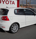 volkswagen r32 2008 white hatchback gasoline 6 cylinders all whee drive automatic 79925