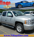 chevrolet silverado 1500 2011 silver lt flex fuel 8 cylinders 4 wheel drive automatic with overdrive 55391