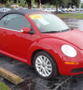 volkswagen new beetle 2008 red se gasoline 5 cylinders front wheel drive automatic 34474