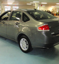 ford focus 2010 gray sedan se gasoline 4 cylinders front wheel drive automatic 34474