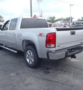 gmc sierra 1500 2011 silver slt flex fuel 8 cylinders 4 wheel drive automatic with overdrive 28557