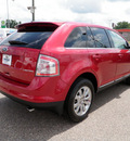 ford edge 2010 red suv limited fwd gasoline 6 cylinders front wheel drive automatic 56301