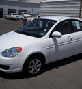 hyundai accent 2010 white sedan gls gasoline 4 cylinders front wheel drive automatic 79925