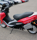 extreme x treme scooter 2009 red 5000 li electric not specified 56001