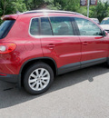 volkswagen tiguan 2009 red suv se 4 motion awd gasoline 4 cylinders all whee drive automatic 56001