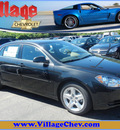 chevrolet malibu 2012 black sedan ls gasoline 4 cylinders front wheel drive 6 speed automatic 55391
