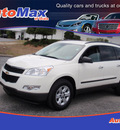 chevrolet traverse 2011 white ls gasoline 6 cylinders front wheel drive automatic 34474