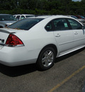 chevrolet impala 2011 white sedan lt flex fuel 6 cylinders front wheel drive automatic 55391