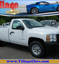 chevrolet silverado 1500 2011 white work truck flex fuel 8 cylinders 4 wheel drive automatic 55391