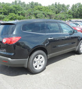 chevrolet traverse 2011 black suv lt gasoline 6 cylinders front wheel drive automatic 55391