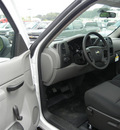 chevrolet silverado 1500 2011 white work truck gasoline 6 cylinders 2 wheel drive automatic 55391