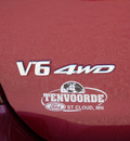 toyota highlander 2007 red suv 4x4 5dr gasoline 6 cylinders all whee drive automatic 56301