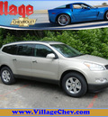 chevrolet traverse 2011 gold suv lt gasoline 6 cylinders all whee drive automatic 55391