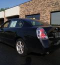 nissan altima 2006 black sedan gasoline 6 cylinders front wheel drive automatic 60098