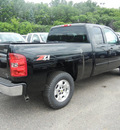 chevrolet silverado 1500 2011 black lt flex fuel 8 cylinders 4 wheel drive automatic with overdrive 55391