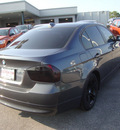 bmw 328i 2008 gray sedan gasoline 6 cylinders rear wheel drive automatic 60443