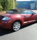 mitsubishi eclipse spyder 2007 gt gasoline 6 cylinders front wheel drive automatic 55448