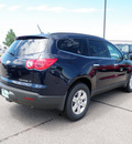 chevrolet traverse 2011 dk  blue suv lt gasoline 6 cylinders front wheel drive 6 speed automatic 55313