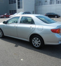 toyota corolla 2009 silver sedan le gasoline 4 cylinders front wheel drive automatic 55448